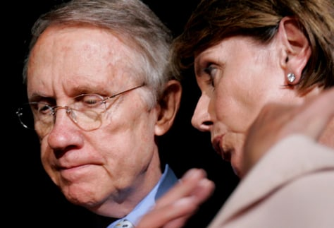 Image: Pelosi and Reid