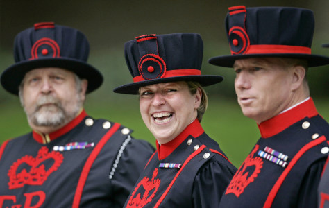 Image: British Beefeaters.
