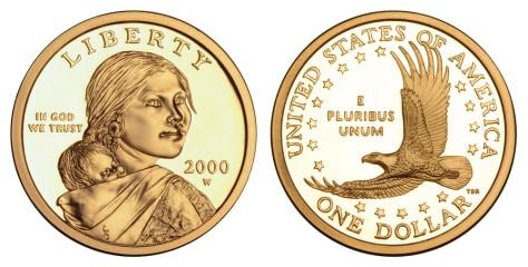 Image: Sacagawea coin