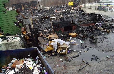 Image: Aftermath of R.I. nightclub blaze