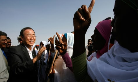 Image: U.N. Secretary General Ban Ki-moon
