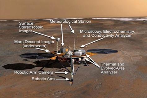 Image: Mars Phoenix Lander