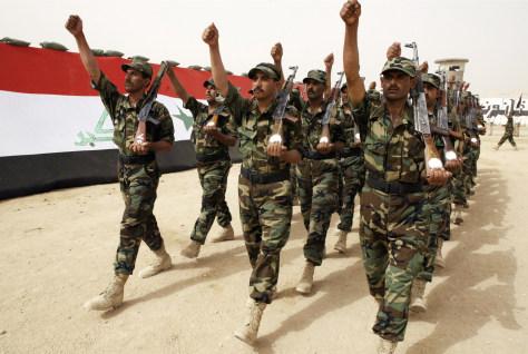 Image: Iraqi police academy graduates
