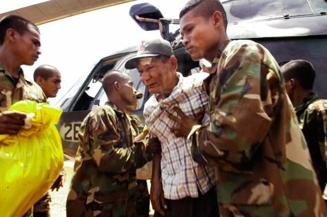 Image: Injured Nicaragua man
