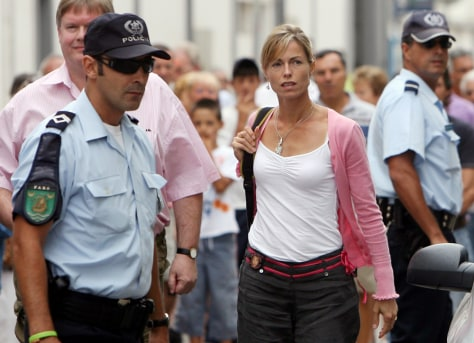 IMAGE: Kate McCann in Portugal