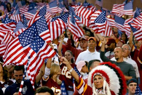 Image: Redskins fans