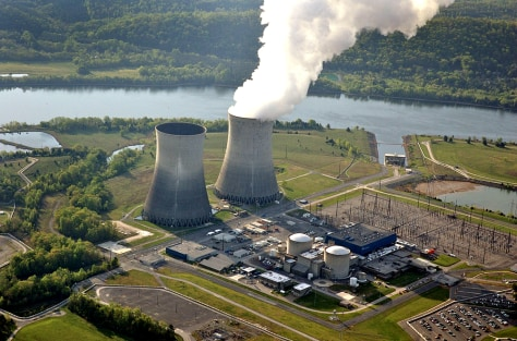 Image: Nuclear plant