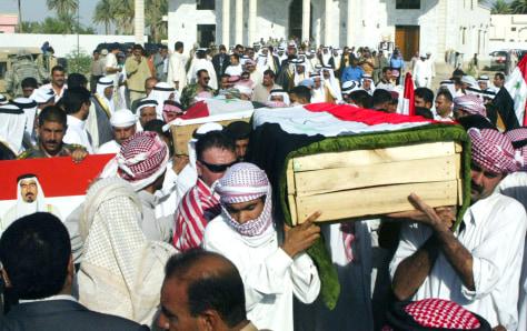Image: Abu Risha funeral