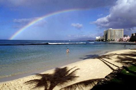 Image: Waikiki beach