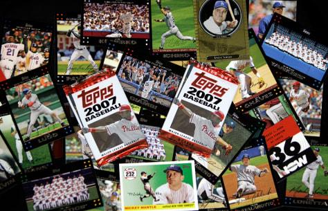 Image: Topps baseball cards