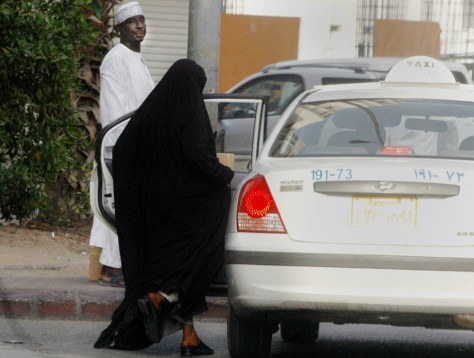 Image: Saudi Arabia woman