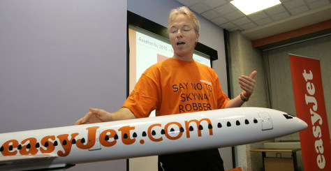 Image: easyJet's chief executive Andy Harrison