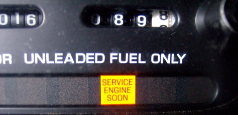 'Check engine' light