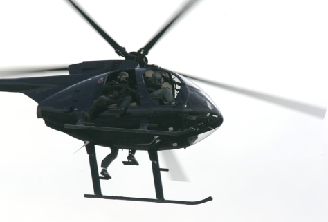 Image: Blackwater USA helicopter