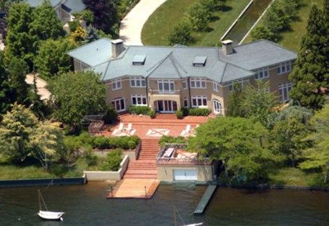 Image: Ron Perelman's home