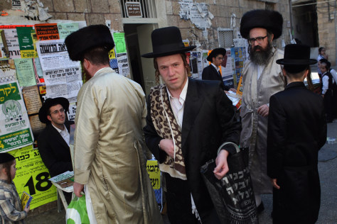 Image: Ultra-Orthodox Jew in Israel