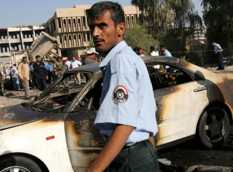 Image: Basra car bombing