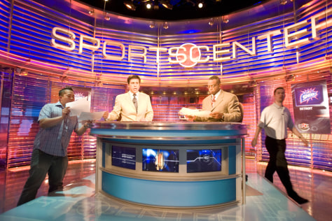 "Image: ""SportsCenter"" set"