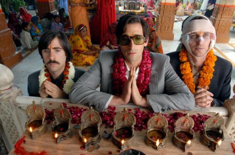Image: Jason Schwartzman, Adrien Brody and Owen Wilson