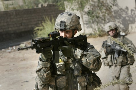 Image: U.S. soldier