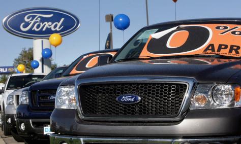 Image: 2007 Ford F-150 pickup trucks