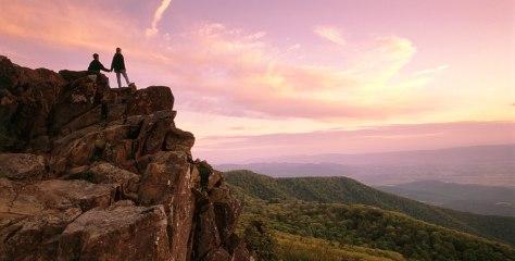 Image: Stony Man Mountain in the Shenandoah National Park.