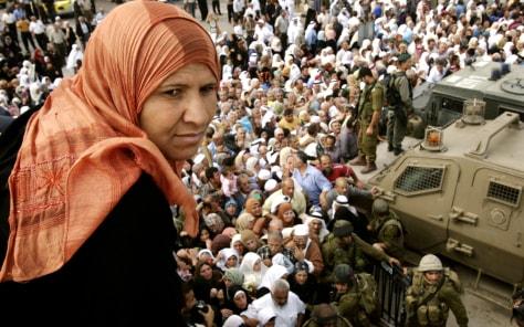 Image: Palestinian woman