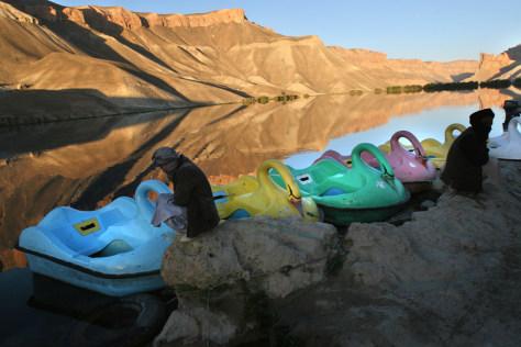 Image: Band-i-Mir lake