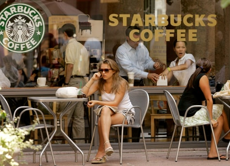 Image: Starbucks coffee shop