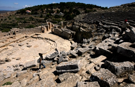 Image: Sanctuary of Apollo at the ancient Greek city of Cyrene
