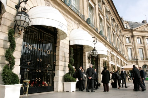 Image: Jurors at Paris Ritz.