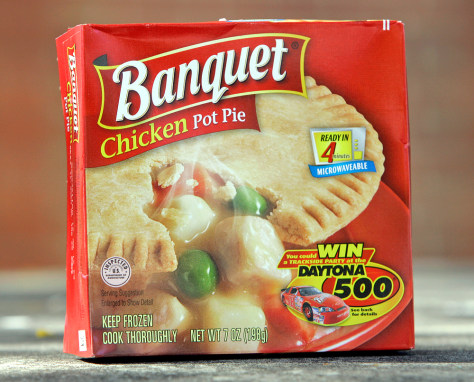 Image: Banquet brand chicken pot pie