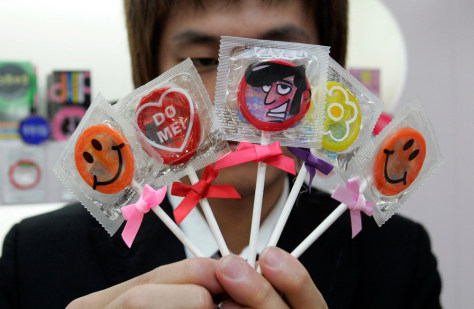 Image: Candy-shaped condoms