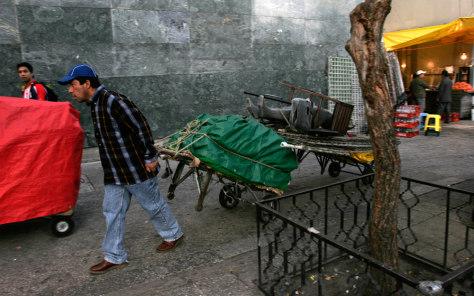 Image: Mexico City street vendors