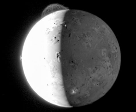 Image: Eruption on Io
