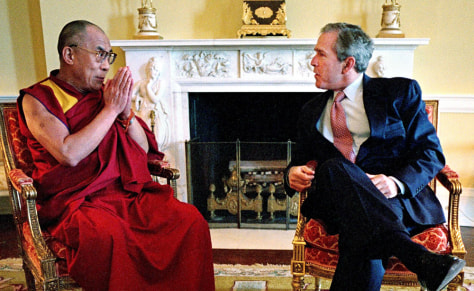 Q A About The Dalai Lama World News Asia Pacific China Nbc News