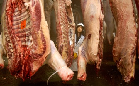Image: Meat inspection