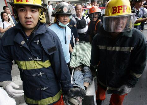 IMAGE Manila Explosion victim