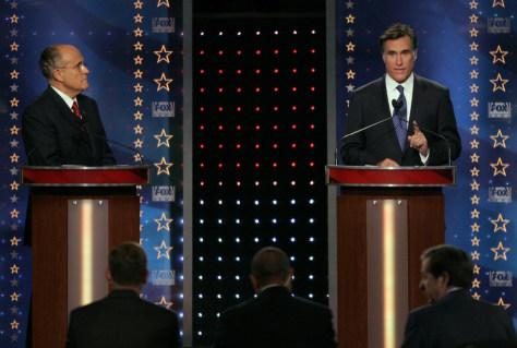 Image: Giuliani, Romney