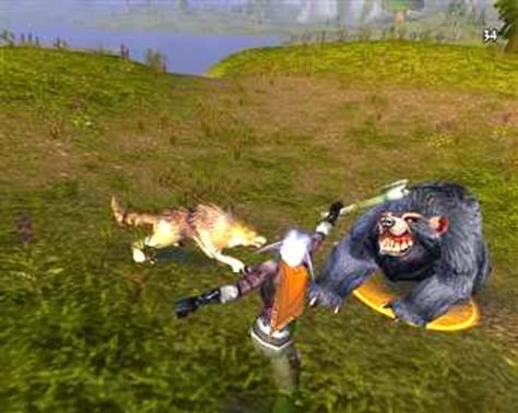 Image: A battle in World of Warcraft
