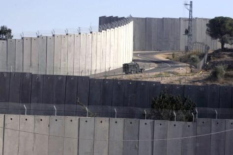 Image: Jerusalem separation barrier