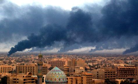 Image: Baghdad attack 2003