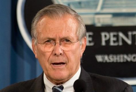 IMAGE: Donald H. Rumsfeld