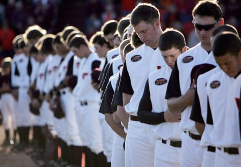 IMAGE: Virginia Tech baseball team