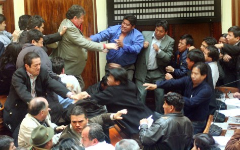 Image: Bolivian fight