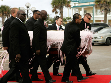 Image: Anna Nicole Smith funeral
