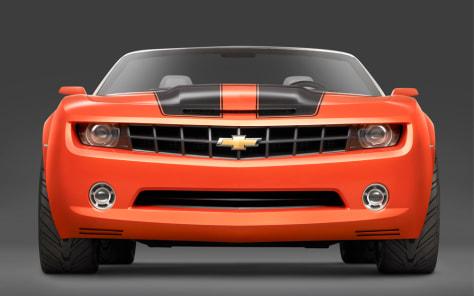 Image: Chevrolet Camaro convertible