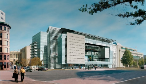 IMAGE: SKETCH OF NEWSEUM