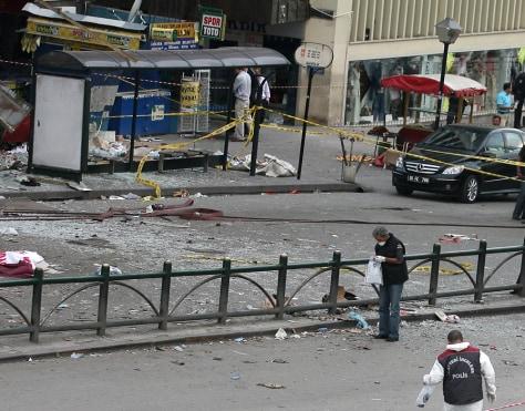 Image: Ankara explosion