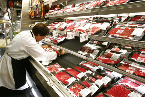 Meat Products Stocked In New York City